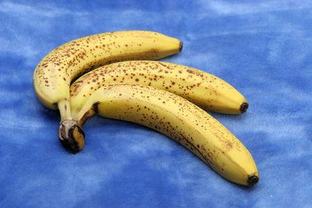 three bananas