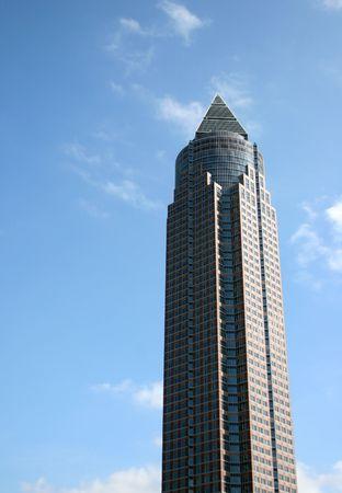 skyscrapper in frankfurt, germany