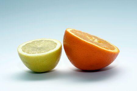 cytryny i pomarańczy Zdjęcie Seryjne