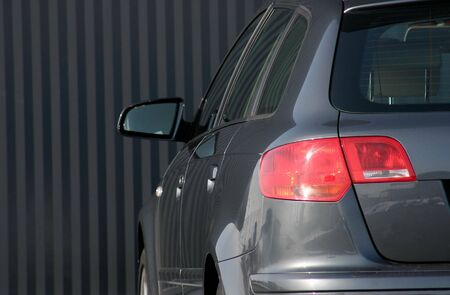 executive car tail light Stock Photo