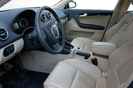 Europejski wnętrza samochodu