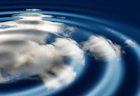 Sky and water abstract Stock Photo - 311137