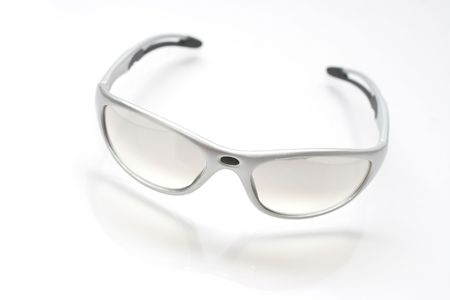 silver modern design sunglasses Stock Photo - 404610