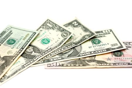 us dollars Stock Photo - 438305