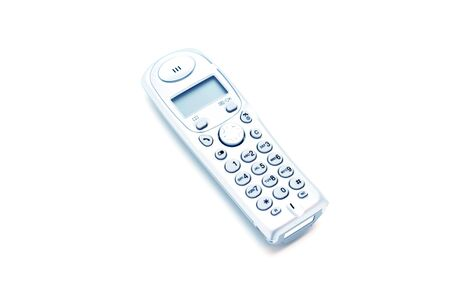 modern design home phone wireless toned Stock Photo - 573658