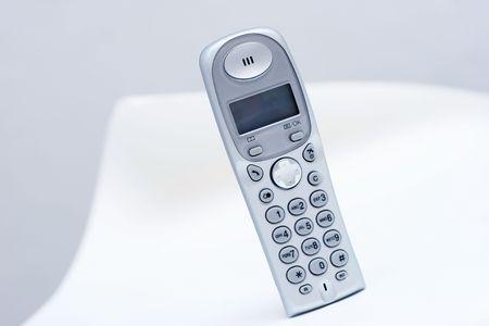 modern design home phone wireless, toned Stock Photo - 573659