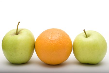 apples and orange Stock Photo - 7003364