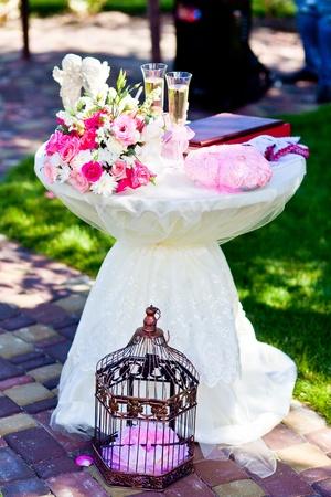 wedding reception decoration: wedding bouqet