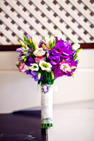 bridal bouquet of flowers photo