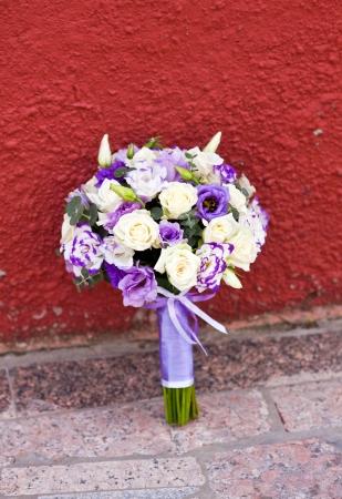 bouquet of beautiful wedding flowers