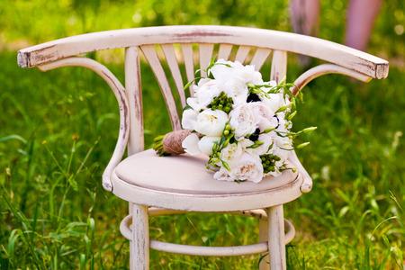 bouquet of wedding flowers Stock Photo