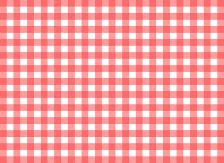 tilable: Facile tilable percalle rosso ripetizione stampa, sfondo trasparente, carta da parati con texture visibile tessuto Vettoriali