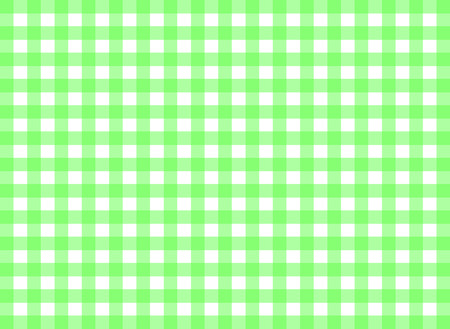 tilable: Easy tilable green gingham repeat pattern print, seamless background, wallpaper with fabric texture visible