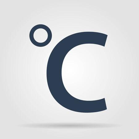 celsius: Vector icon Celsius.