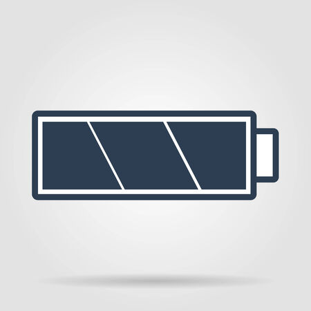 Battery icon. Vector