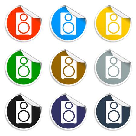 intonation: column - vector icon Flat vector illustrator Eps Illustration