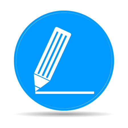 Flat  icon of notes.  vector illustrator Eps