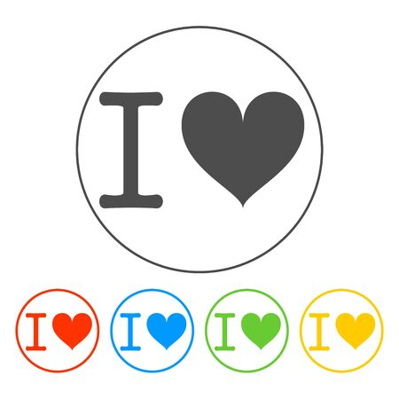 Heart illustration. Happy Valentines Day EPS 10 Vector