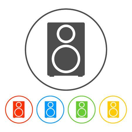 tercet: column - vector icon Flat vector illustrator Eps Illustration