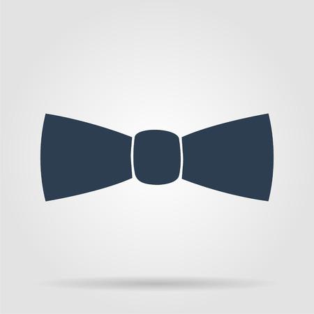 black tie: Pajarita, icono del vector. Illustrator EPS 10 Vectores