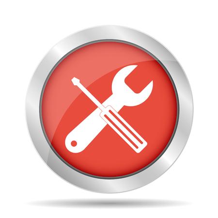 simbol: Repair Icon. Service  simbol. Tools singn. Flat design style