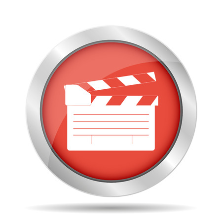clapper board: movie clapper board, movie maker vector. Illustrator Illustration