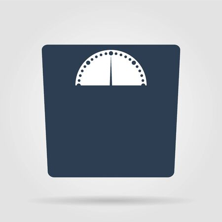 weighting icon. Vector illustration