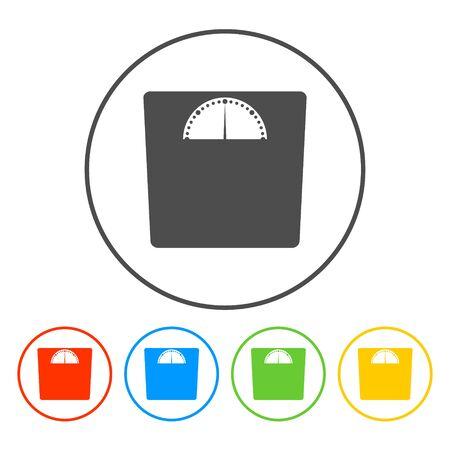 weighting: weighting icon. Vector illustration    Illustration