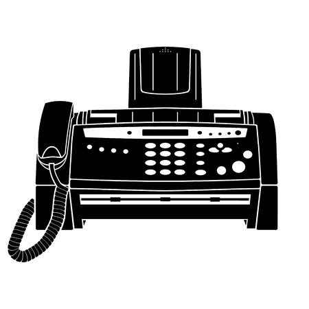 Fax icon Vektorgrafik