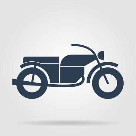 motorcycle: motorcycle icon illustration Illustration