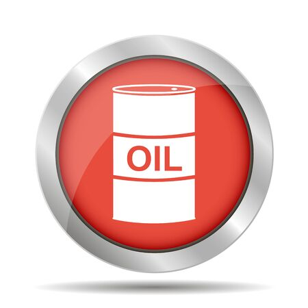 stock listing: icon barrels of oil.  Illustration