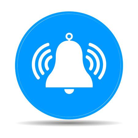Icône de Bell Symbole Banque d'images - 40065278