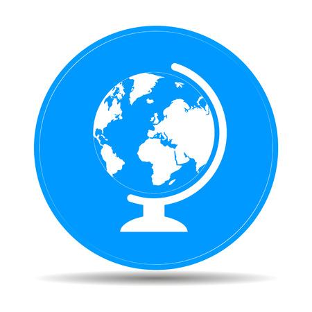 geography: geography school earth globe web icon