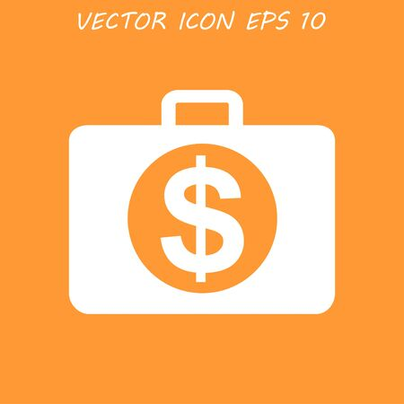 dollar icon: financial dollar icon Illustration