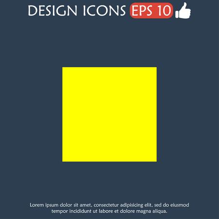 Glossy multimedia icon stop  Vector