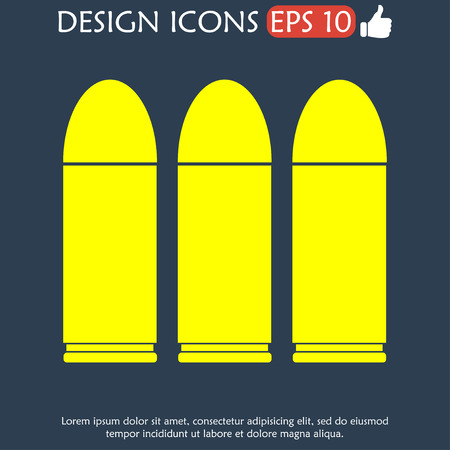 illustrator 10: bullet icon. Vector icon illustrator EPS 10