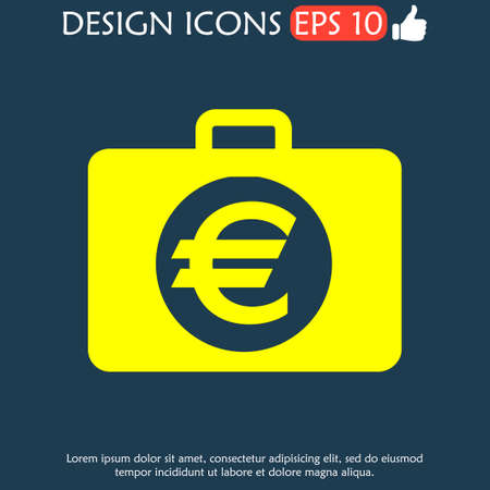 illustrator 10: financial icon. Icon vector illustrator Eps 10