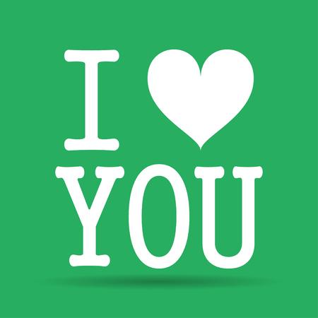 Heart illustration. Happy Valentine\'s Day