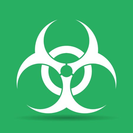 bio hazard: Bio hazard icon - vector web illustration, easy paste to any background. Illustration