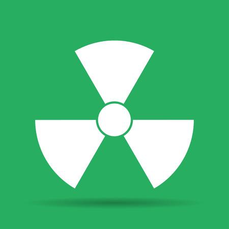 roentgen: radiation symbol. Flat vector illustrator Eps 10 Illustration