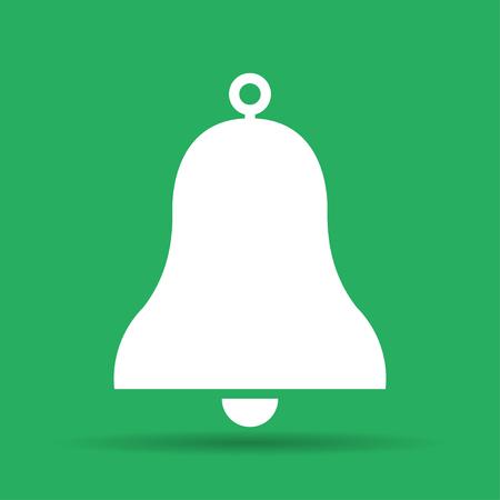handbell: Vector Bell Icon Symbol. Flat illustration EPS Illustration