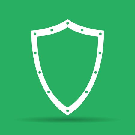 heraldic symbol: Vector protection icon, isolated Illustration