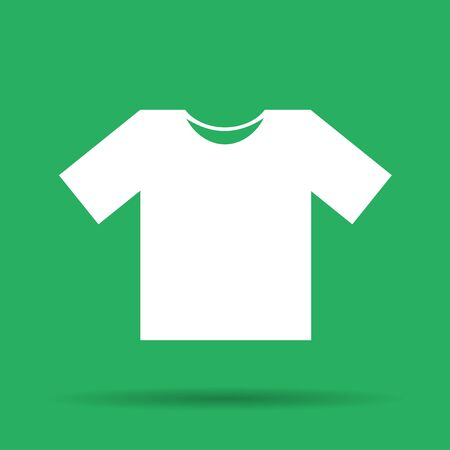 illustrator 10: Tshirt Icon icon,  Flat Illustrator EPS 10