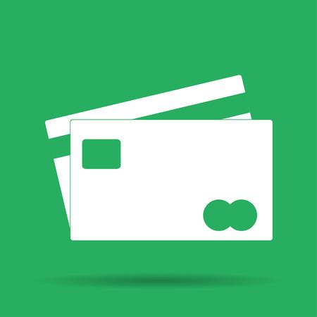 transact: Credit Card Icon. Vector illustrator EPS 10