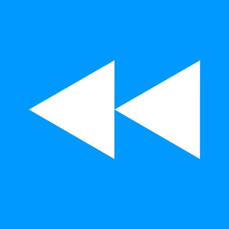 multimedia: Glossy multimedia icon  forward vector