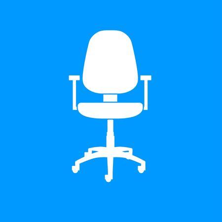 ergonomic: Office ichair icon, vector