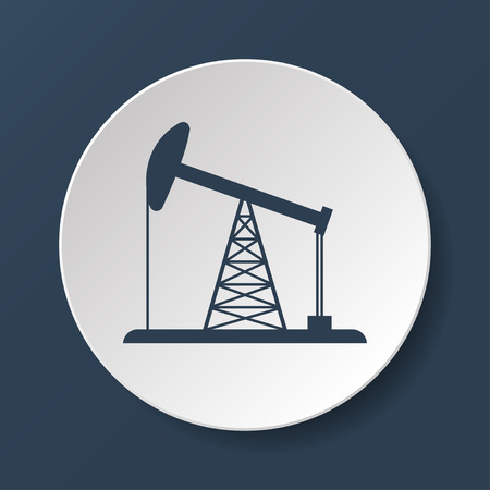 fracking: Oil Rig Icon\
