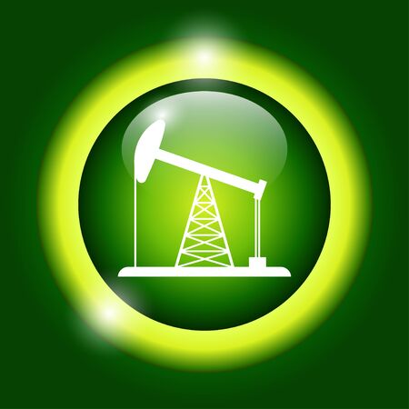 fracking: Oil Rig Icon
