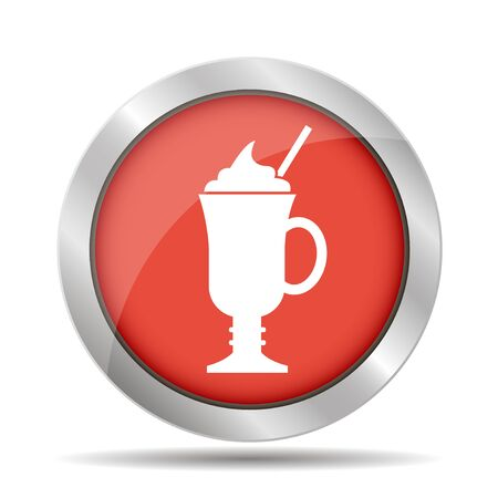 long bean: coffee cup icon