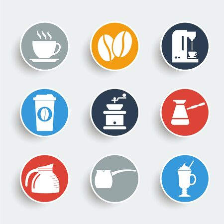 cup cake: Coffee Icons
